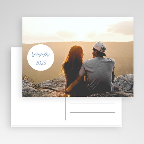 Fotokarten selbst gestalten Nizza Postkarte  gratuit