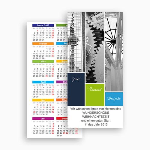 Weihnachtskarten - Geschäftlich 20400 test