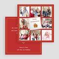 Weihnachtskarten Jahresrückblick gratuit