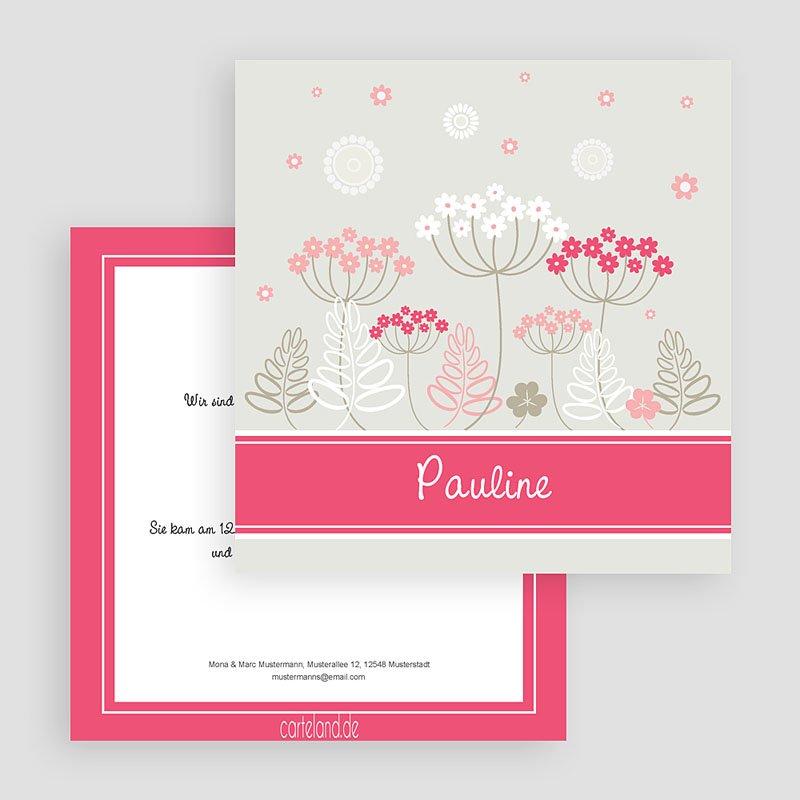 Geburtskarten für Mädchen Pauline gratuit