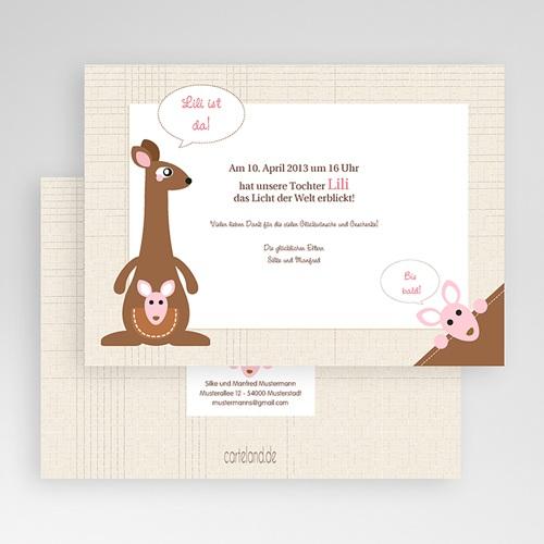 Geburtskarten für Mädchen - Mila 20411 preview