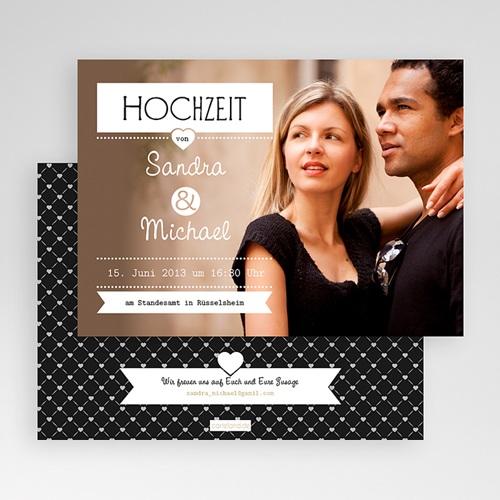 Hochzeitseinladungen Design Chic gratuit