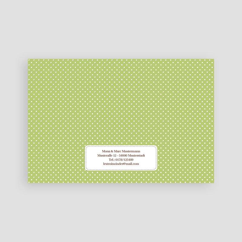 Geburtskarten für Mädchen Schildkrötenbande pas cher