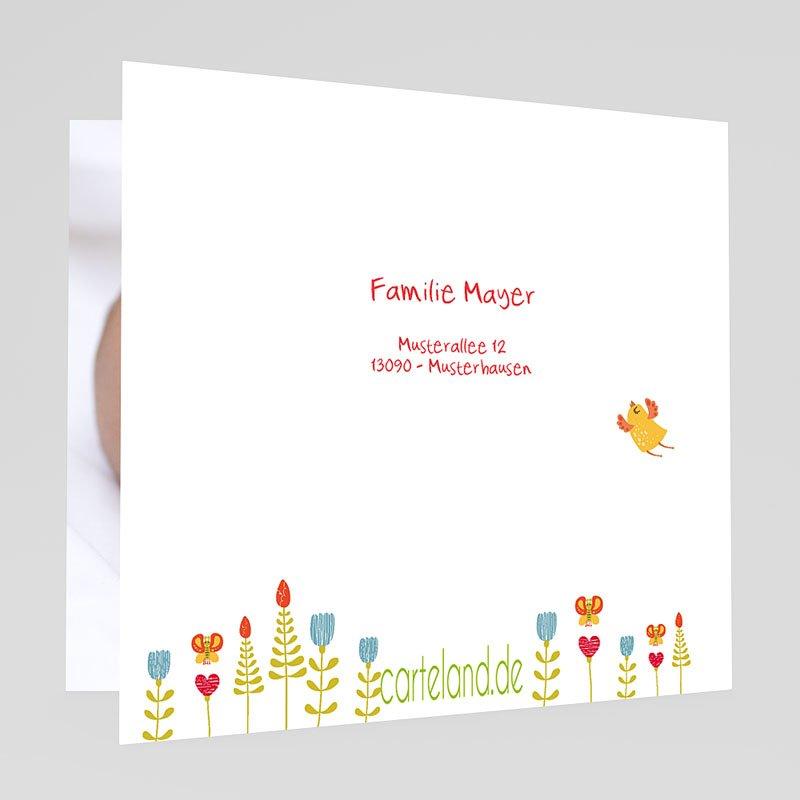 Geburtskarten für Mädchen Nest gratuit