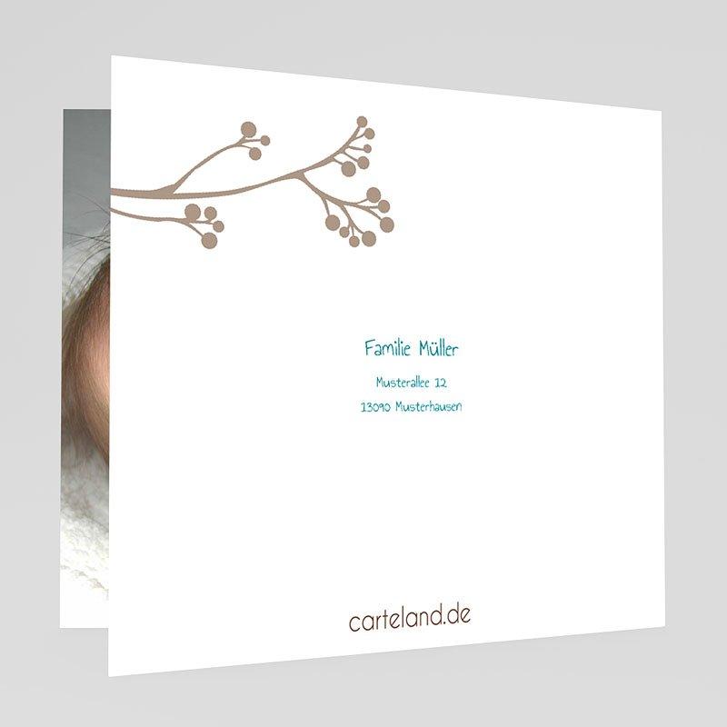 Geburtskarten für Jungen Vogelgezwitscher gratuit