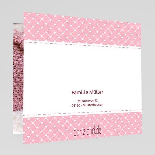 Geburtskarten für Mädchen - Babywäsche 20439 preview