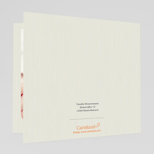 Einladungskarten Taufe Mädchen - Hauchzart 20475 preview