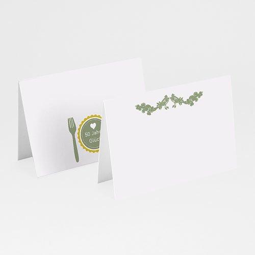 Tischkarten Geburtstag - Glücksrezept 20572