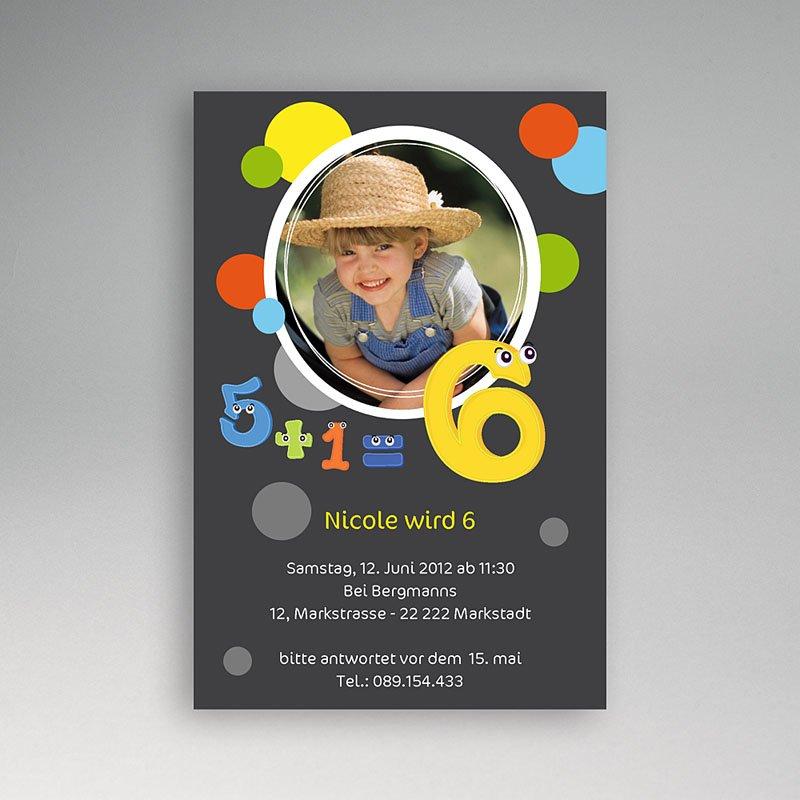 Einladungskarten Geburtstag Jungen Luftblasen