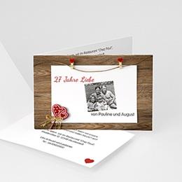 Einlegekarte Anniversaire mariage 50 Jahre Liebe