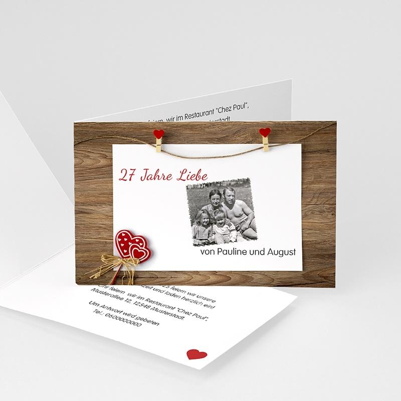 Hochzeit Einladungskarten Geburtstag Holz, Mahagoni, Zedernholz