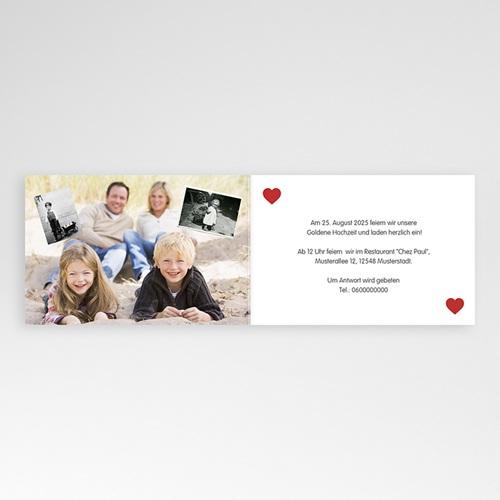 Silberhochzeit und goldene Hochzeit  - 50 Jahre Liebe 20591 preview