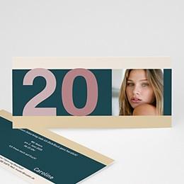 Karten Anniversaire adulte Twenties Parties