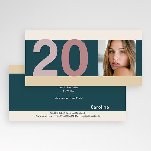 Erwachsener Einladungskarten Geburtstag Twenties Parties pas cher