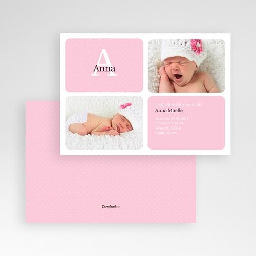 Geburtskarten für Mädchen - Julia 2071 test