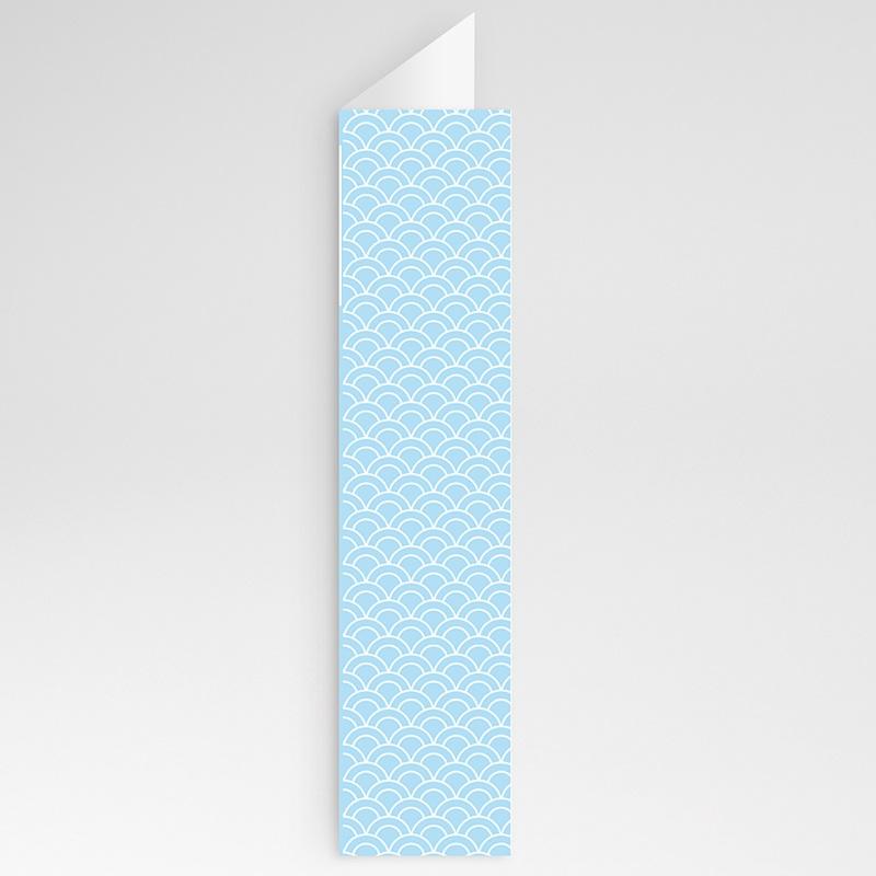 Menükarten Kommunion - Zartes Blau 20726 thumb