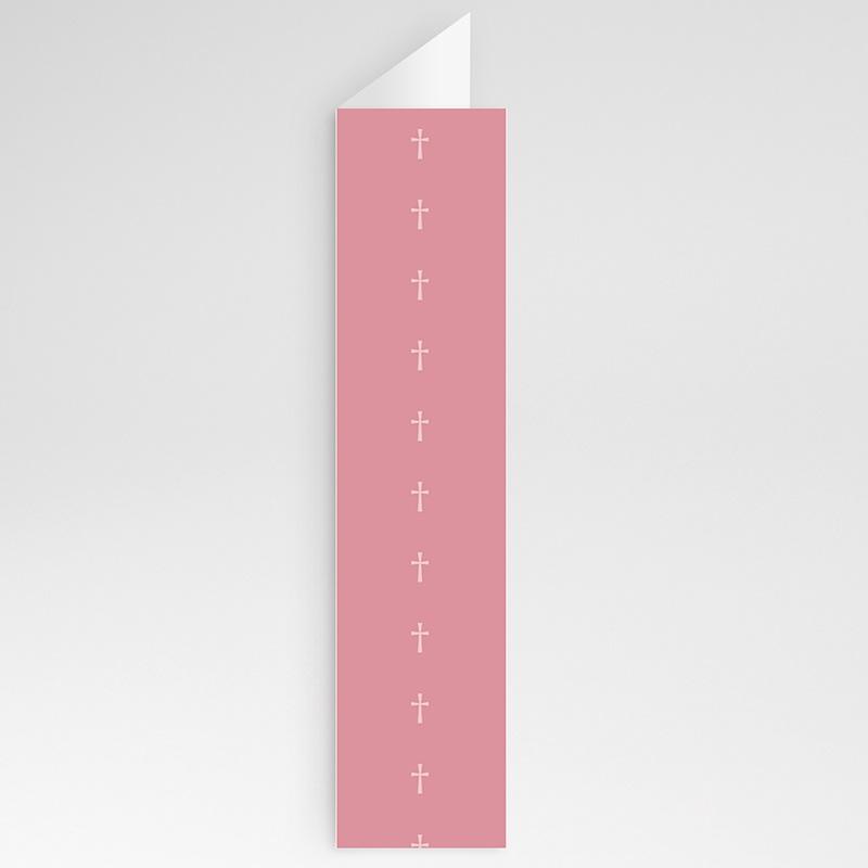 Menükarten Kommunion - Pink 20809 thumb