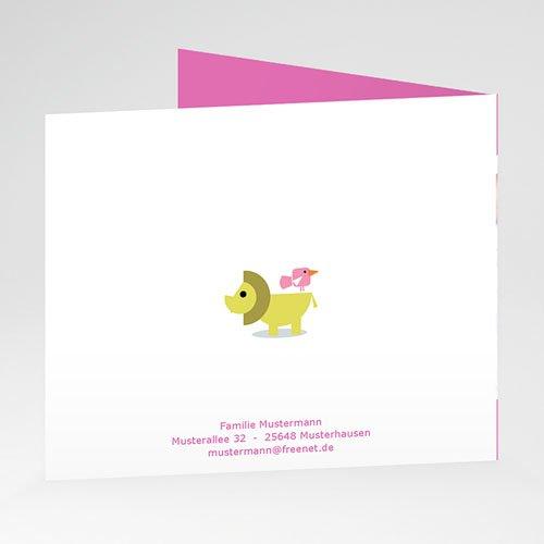 Geburtskarten für Mädchen - Fisch und Vogel 21000 preview