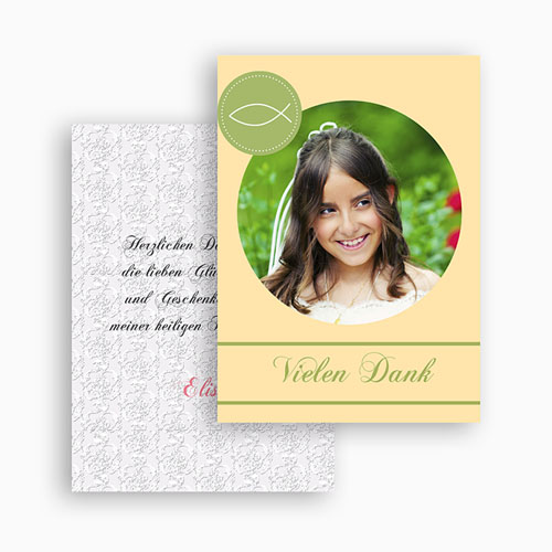 Dankeskarten Kommunion Mädchen - Judith 21121 preview