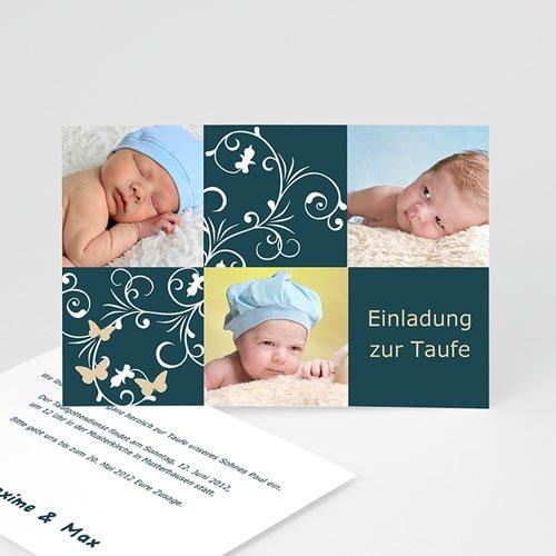 Einladungskarten Taufe Mädchen - Korinna 2118 test