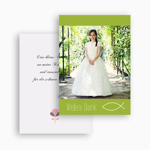 Dankeskarten Kommunion Mädchen - Frieden 21194 preview