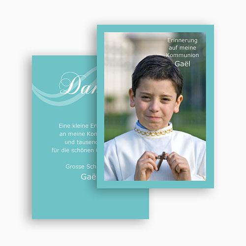 Dankeskarten Kommunion Jungen - Harmonie 21419 preview