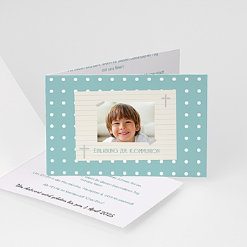 Einladungskarten Kommunion Jungen - Besonderer Tag - 1