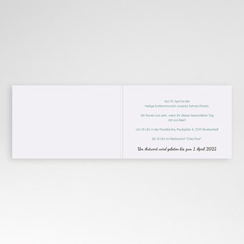 Einladungskarten Kommunion fur Jungen Besonderer Tag pas cher