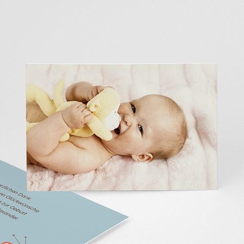 Dankeskarten Geburt Mädchen - Sonderausgabe 21537
