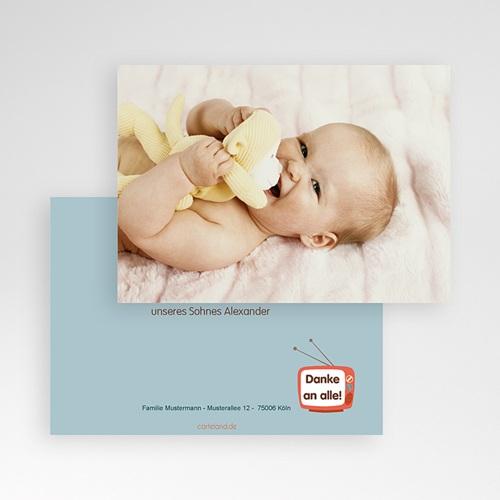 Dankeskarten Geburt Mädchen - Sonderausgabe 21538 preview