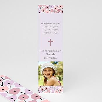 Lesezeichen - Rosablüten - 1