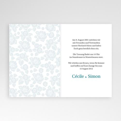 Hochzeitseinladungen modern - Porto 2159 preview