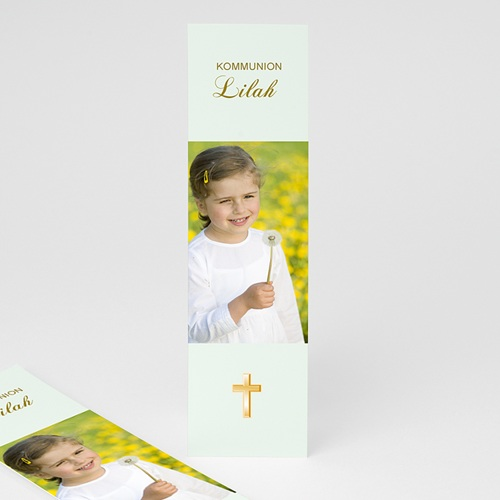 Lesezeichen Goldenes Kreuz
