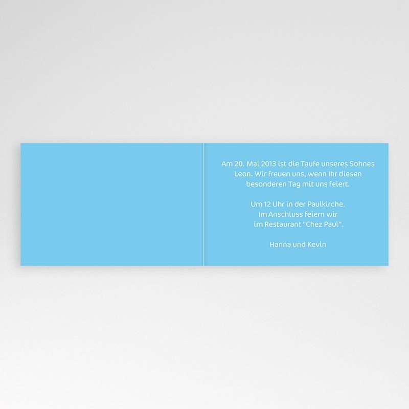 Einladungskarten Taufe für Jungen Justus pas cher