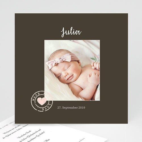 Geburtskarten für Mädchen - Lieblingsfoto 21761