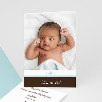 Babykarten für Jungen - Babykarte Elias - 1
