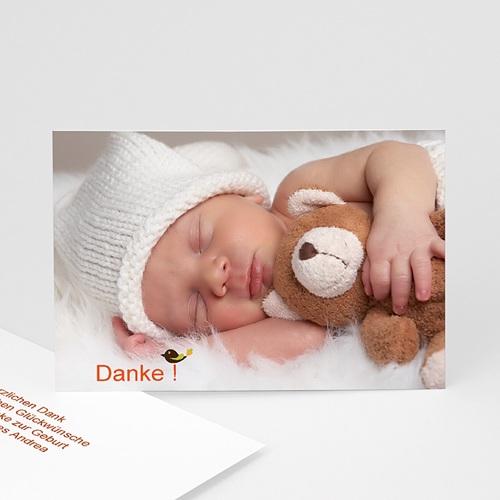 Dankeskarten Geburt für Mädchen Esprit Bohème
