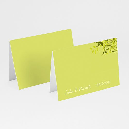 Tischkarten Hochzeit personalisiert Dezente Eleganz