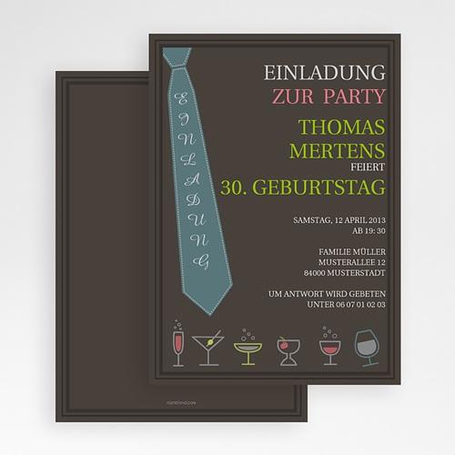 Erwachsener Einladungskarten Geburtstag Feinschliff gratuit
