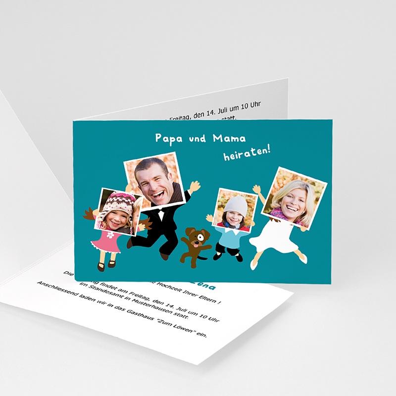 Originelle Hochzeitseinladungen Familienhochzeit