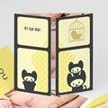 Geburtskarten für Mädchen Kätzchen