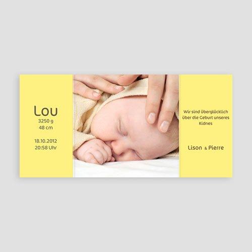 Geburtskarten für Mädchen Kätzchen pas cher