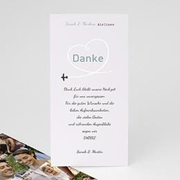 Danksagungskarten Hochzeit Ziel Glück