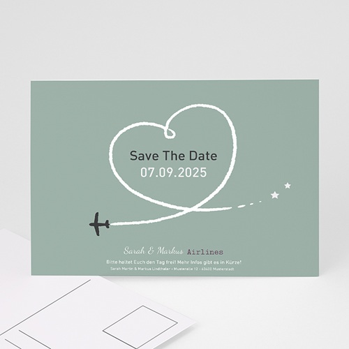 Save The Date  - Flugziel Glück 21969