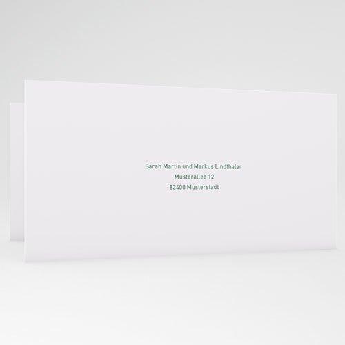 Hochzeitseinladungen Flugticket gratuit