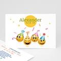 Erwachsener Einladungskarten Geburtstag Smiley