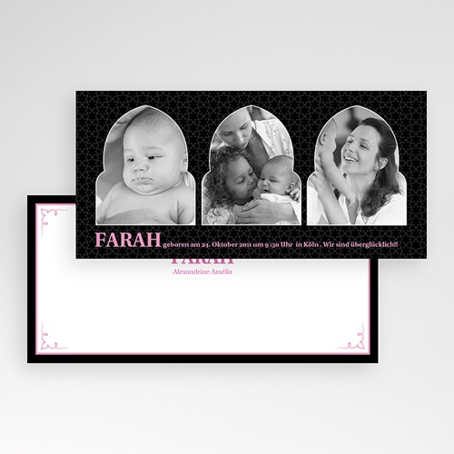 Geburtskarten für Mädchen - 1001 Nacht 2223 test