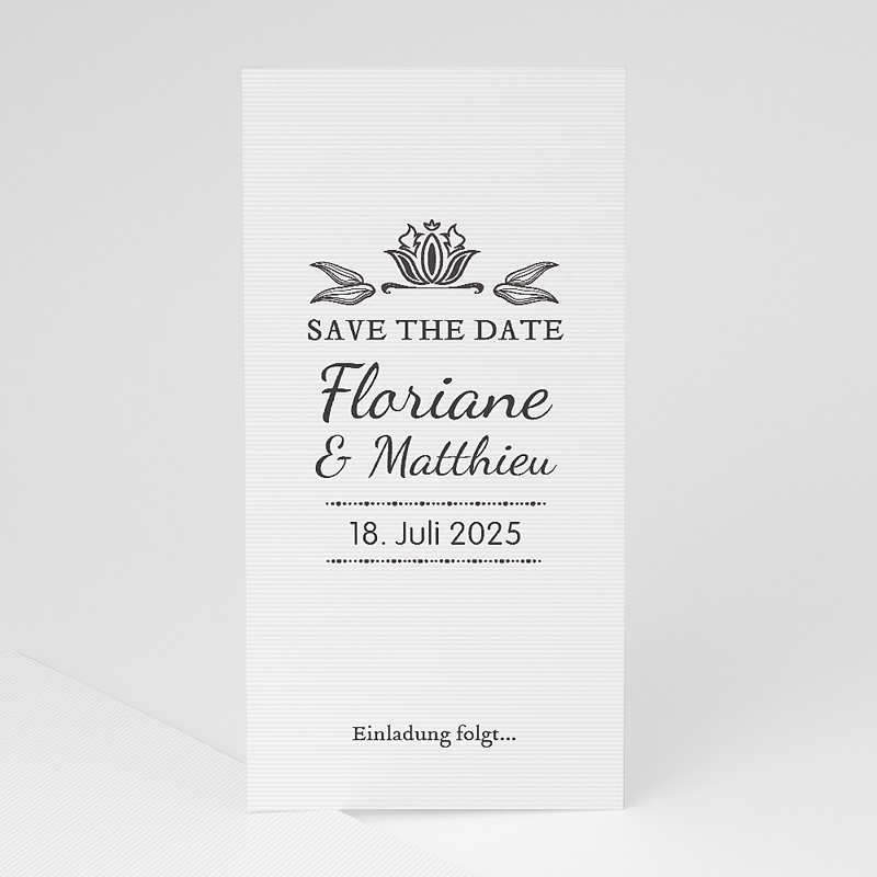 Save The Date  - Vintage Ornament 22264 thumb
