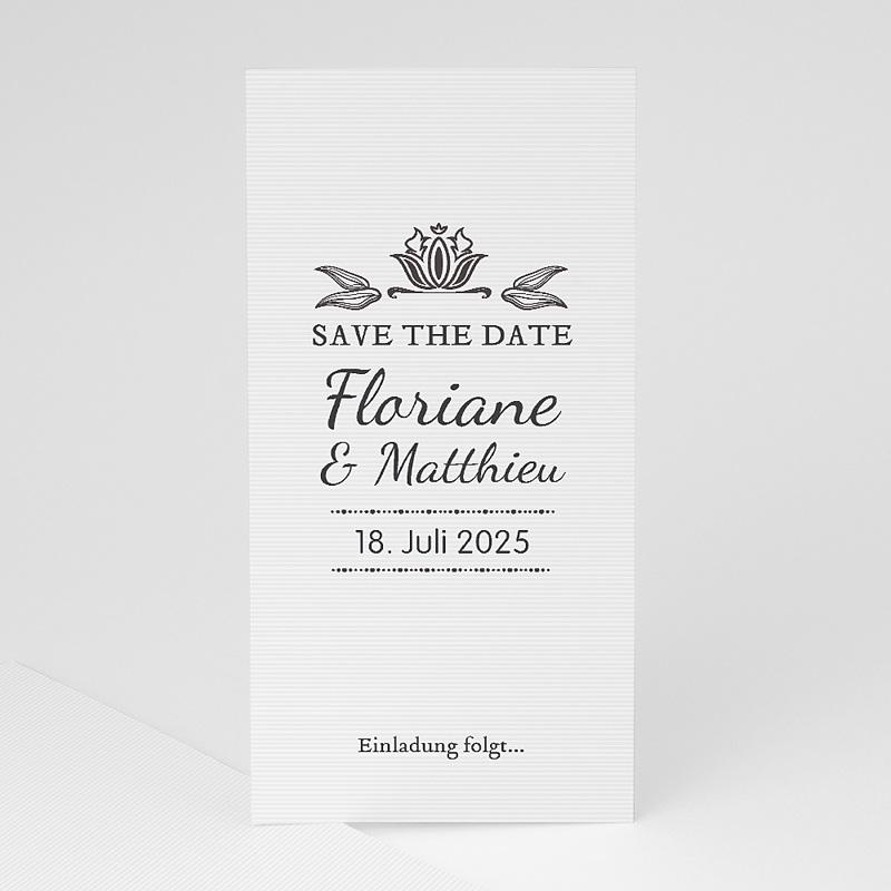 Save The Date Karten Hochzeit Vintage Ornament