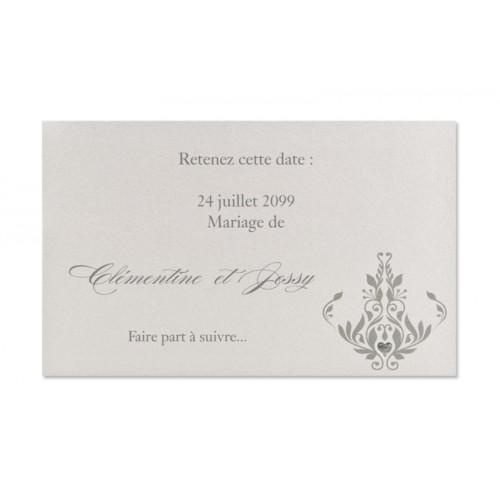 Hochzeitseinladungen traditionell - Thea 22336
